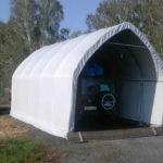 Тент-гараж