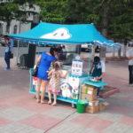 Торговые тенты в Красноярске, пошив торговых тентов