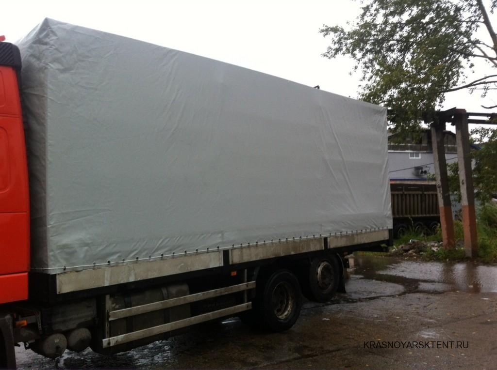 Тент на грузовик Volvo в Красноярске
