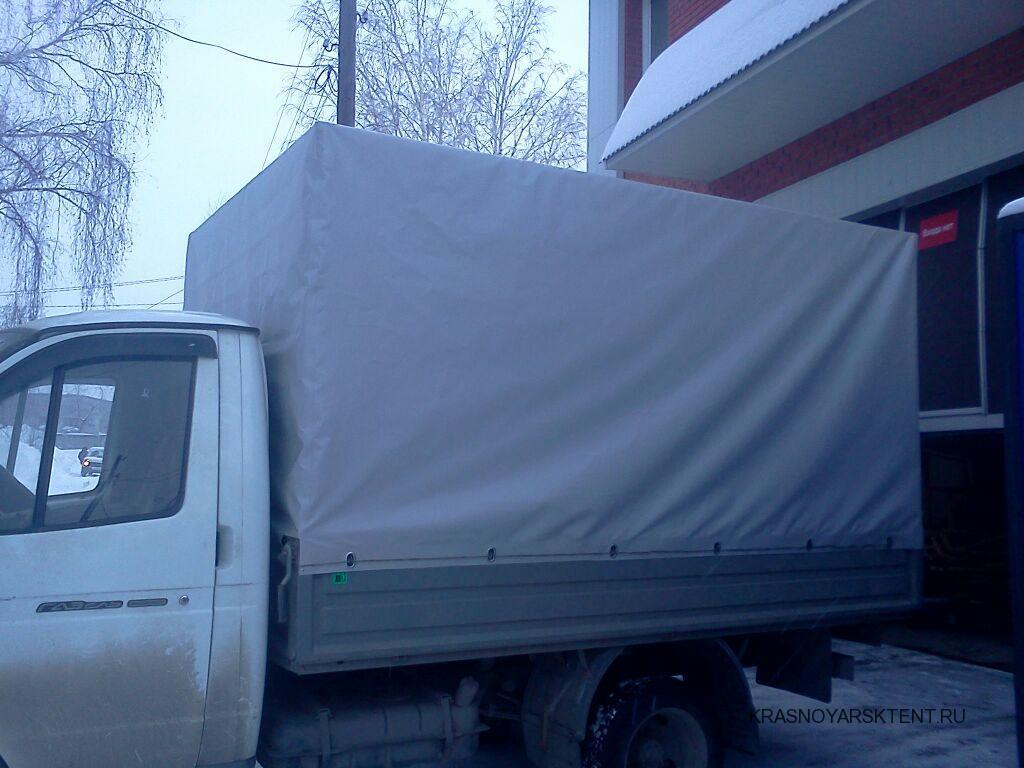 Увеличенный тент на Газель в Красноярске