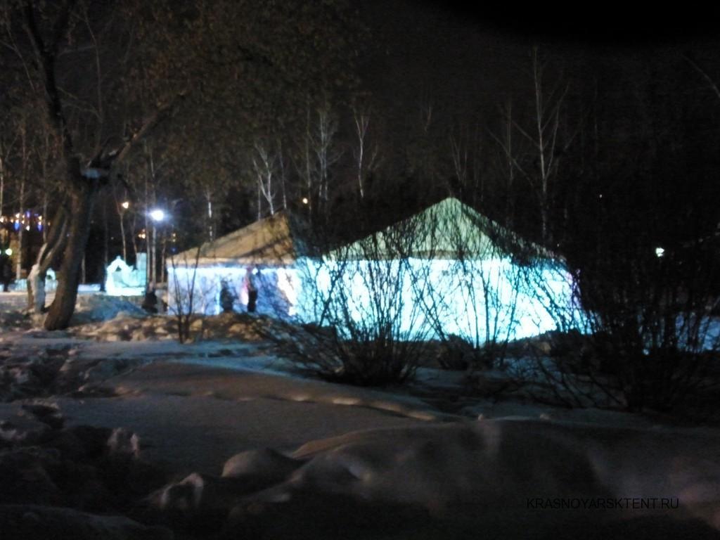 Изготовление шатров-павильонов для зимнего городка