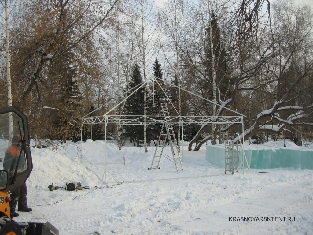 Каркас зимнего шатра