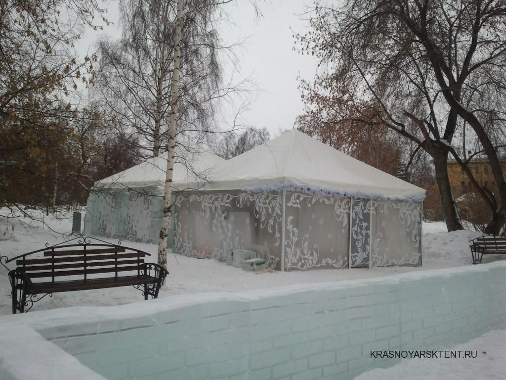 Зимние шатры-павильоны
