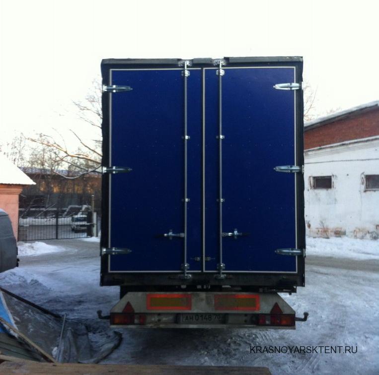 Изготовление и установка ворот на полуприцеп Koegel