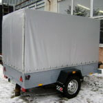 Тент-ПВХ для прицепа легкового авто в Красноярске