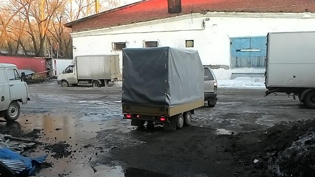 Тент на легковой прицеп в Красноярске