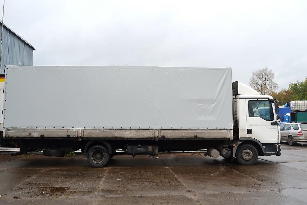 Тент на грузовик MAN TGL 7.150 в Красноярске на заказ
