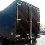Ворота на грузовик Mercedes, изготовление ворота на грузовой автомобиль Mercedes в Красноярске