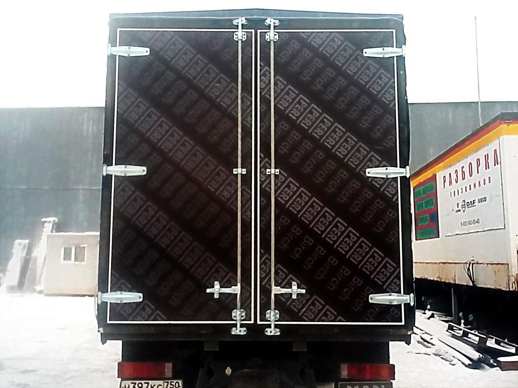 Ворота на грузовик Mercedes в Красноярске
