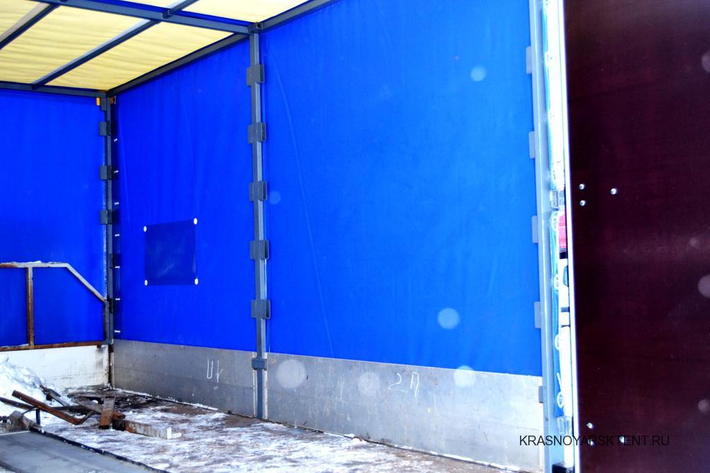 Белая крыша грузовика Iveco Daily