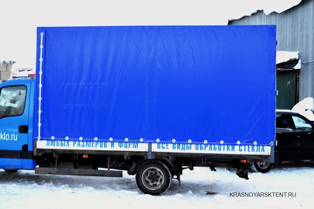 Грузовой тент на автомобиль Iveco Daily в Красноярске