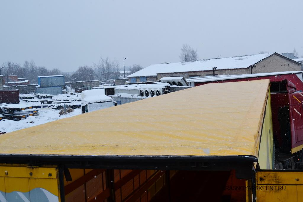 Сдвижная крыша для полуприцепа Schmitz