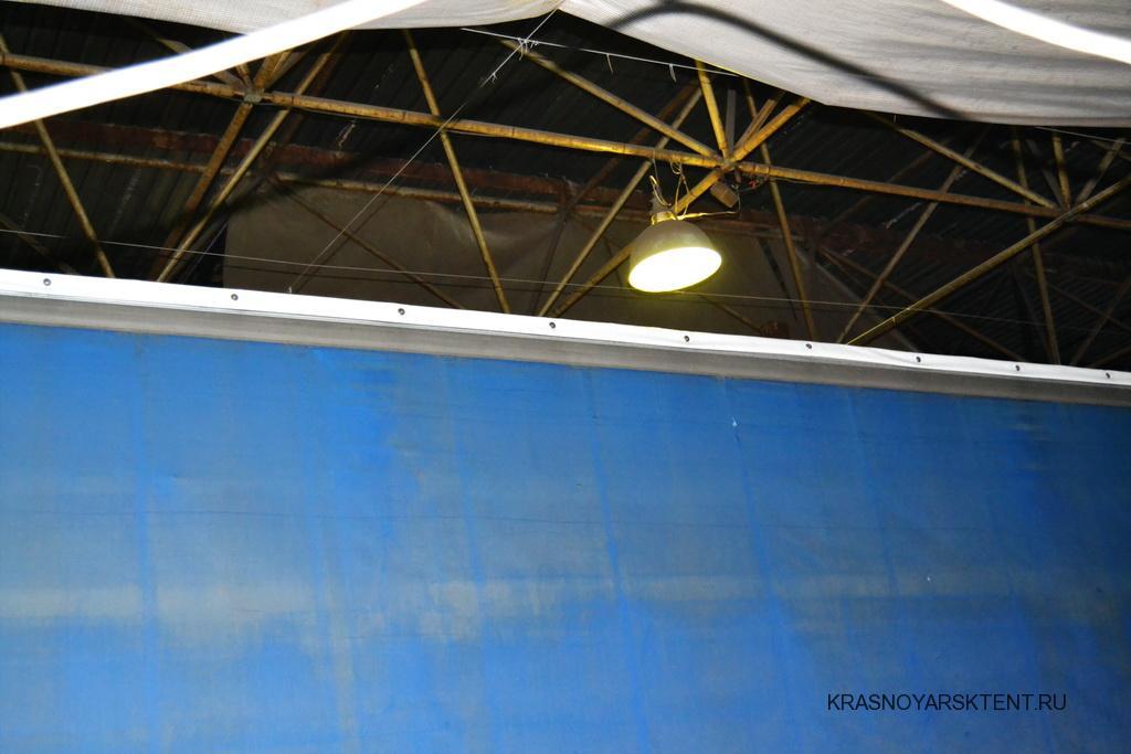Установка сдвижной крыши на полуприцеп Krone