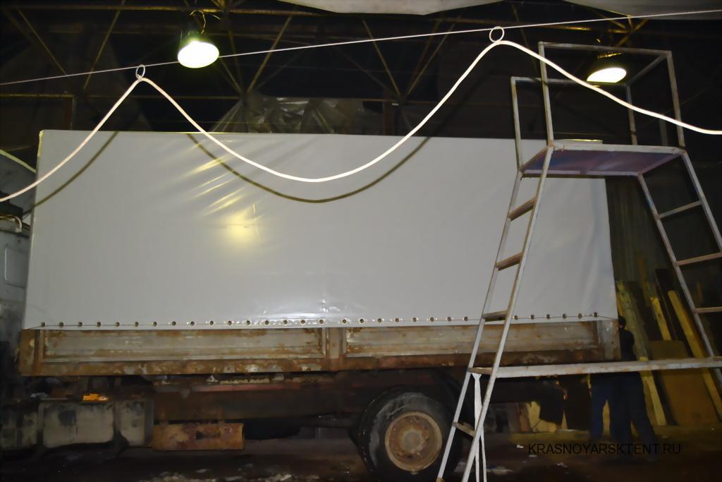 Изготовление тента на грузовик МАЗ в Красноярске