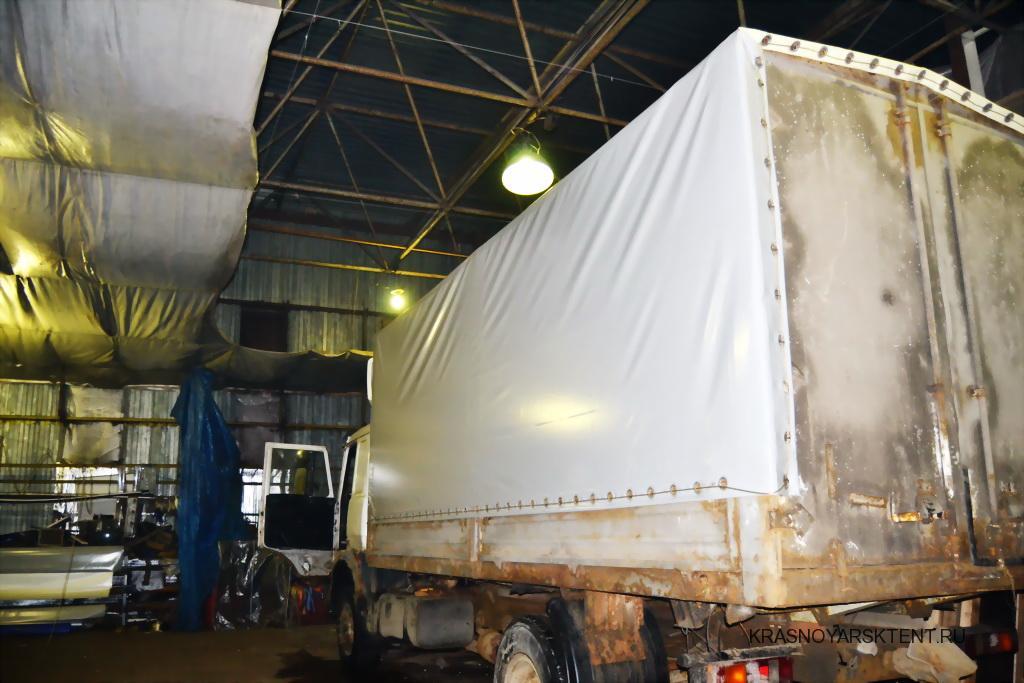 Производство тента на грузовой автомобиль МАЗ в Красноярске под заказ