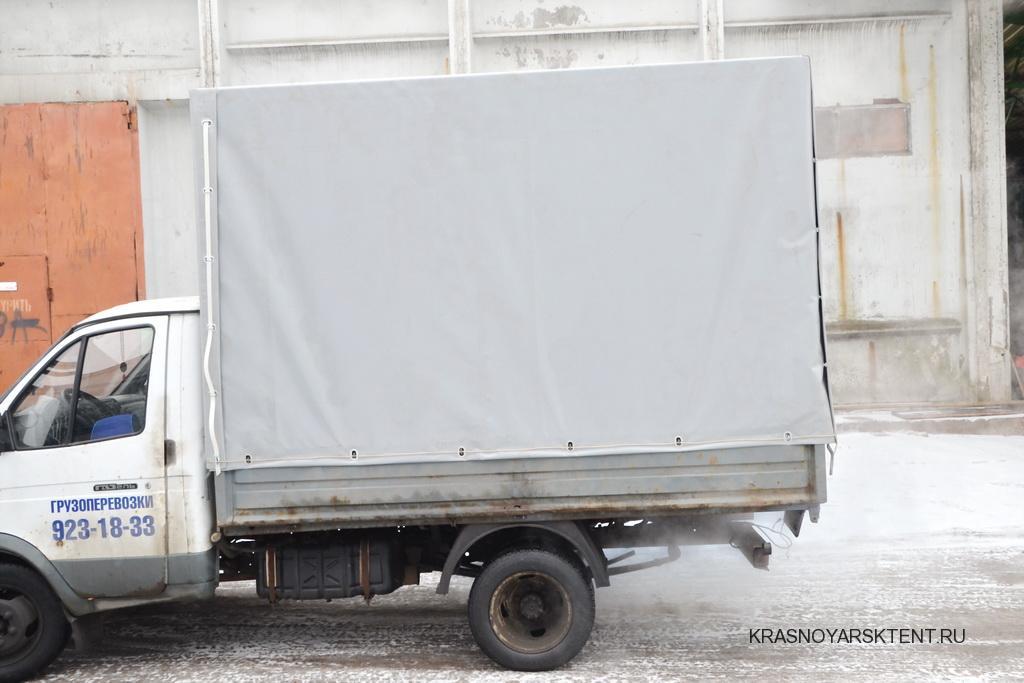Серый тент на «Газель» 3 метра