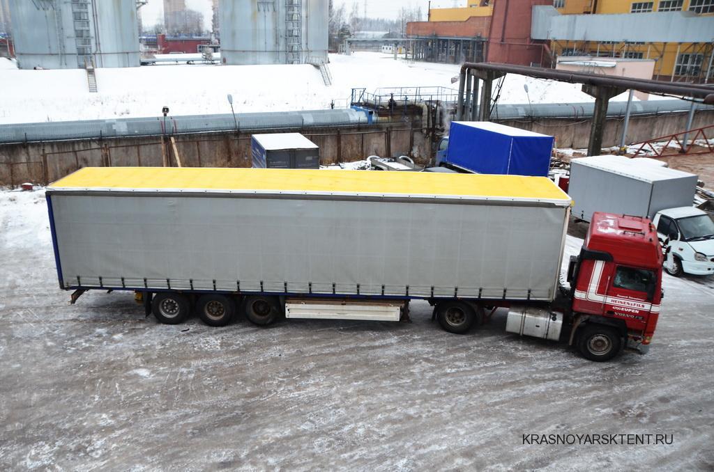 Замена крыши фуры с полуприцепом Schmitz SP 24 в Красноярске