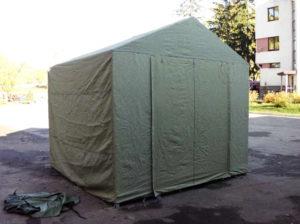 Палатка сварщика из брезента ОП, 3х3 метра
