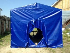 Палатка сварщика из огнеупорной ткани-ПВХ