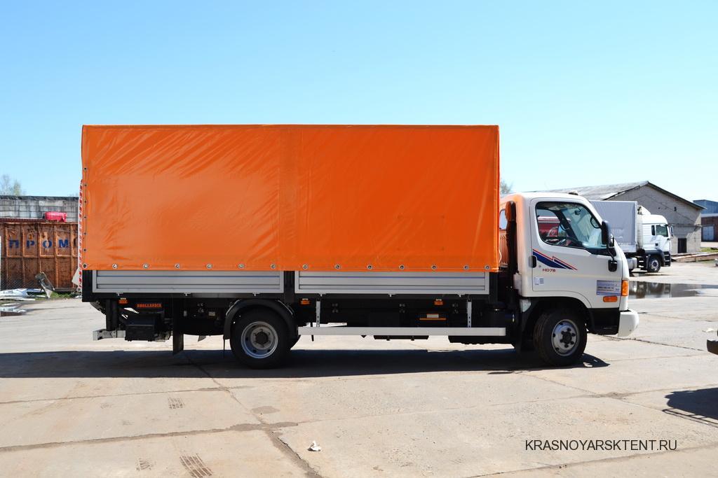 Каркас и тент на грузовик Hyundai HD78, г.Красноярск