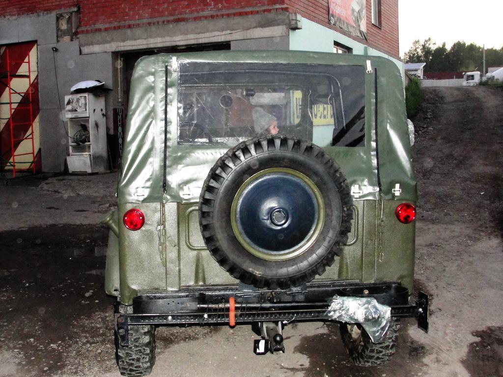 Тент на ГАЗ-60