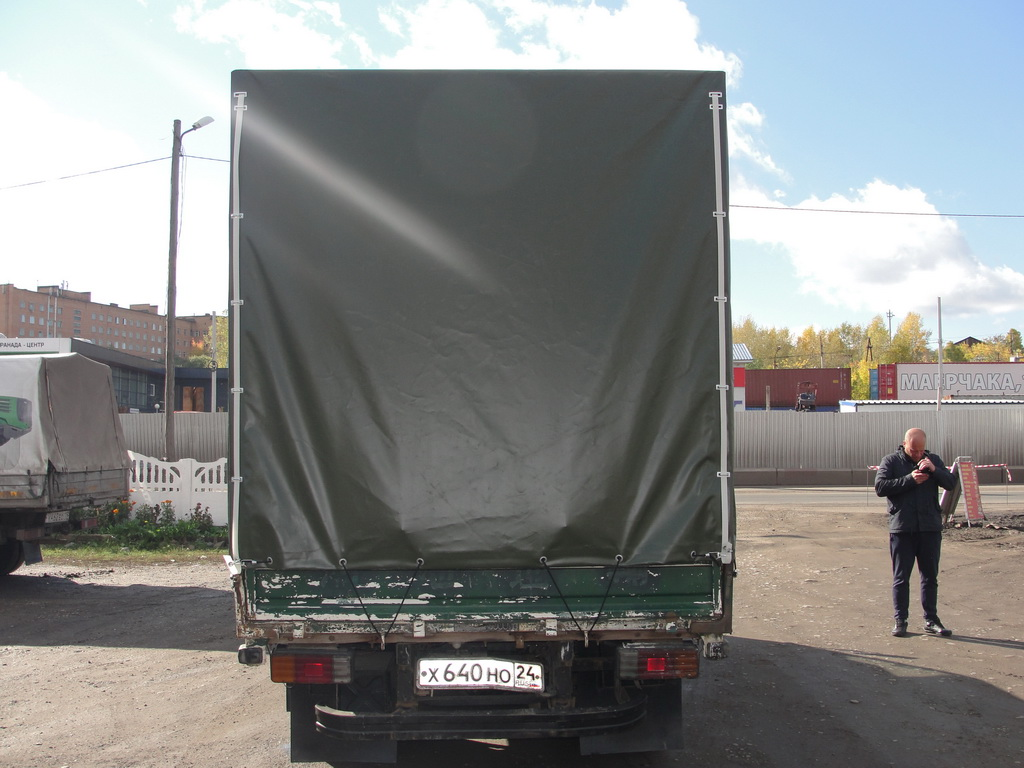 Тент на грузовик «Mazda Titan»