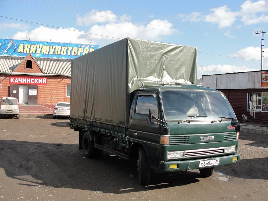 Тент на грузовое авто «Mazda Titan»