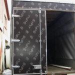 Ворота распашный на грузовой автомобиль «Mercedes»