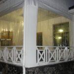 Защитные шторы на террасу