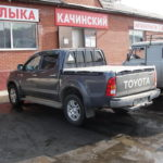 Тент на пикап Toyota Hilux