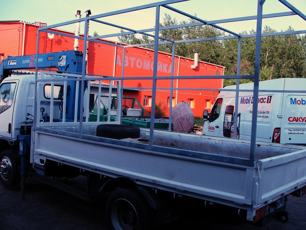 Каркас на грузовик Mitsubishi Canter