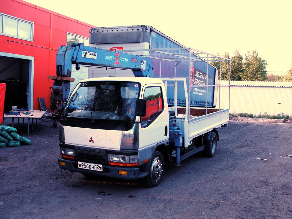 Каркас тент на грузовик Mitsubishi Canter