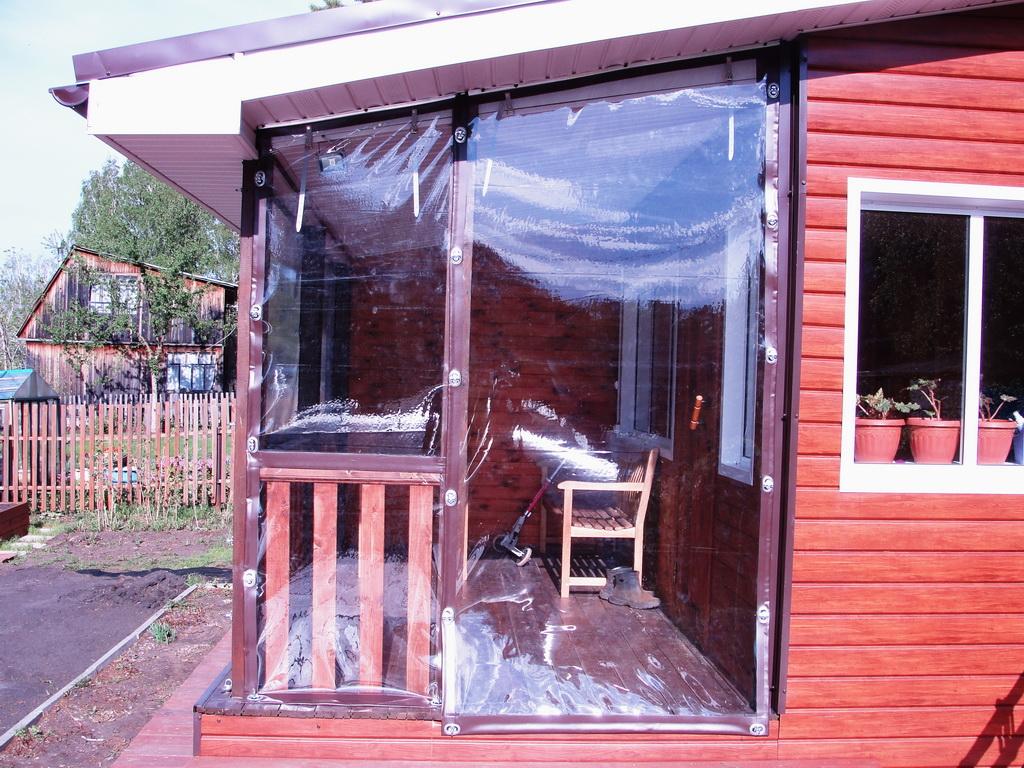 Мягкие окна в Красноярске