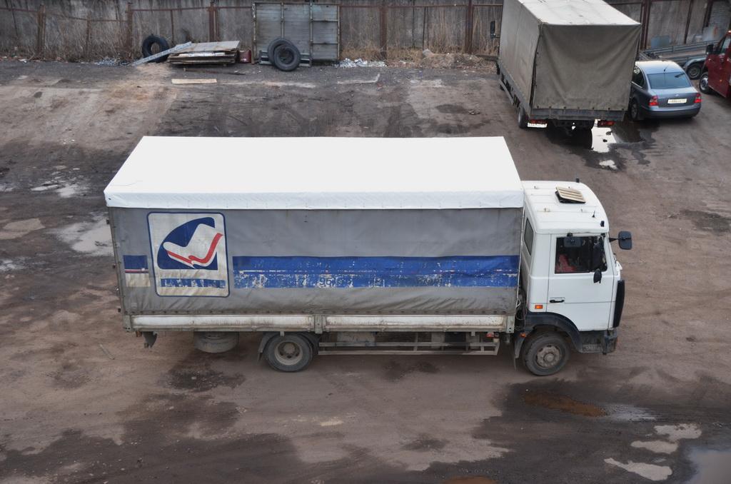 Тент на грузовик «МАЗ»