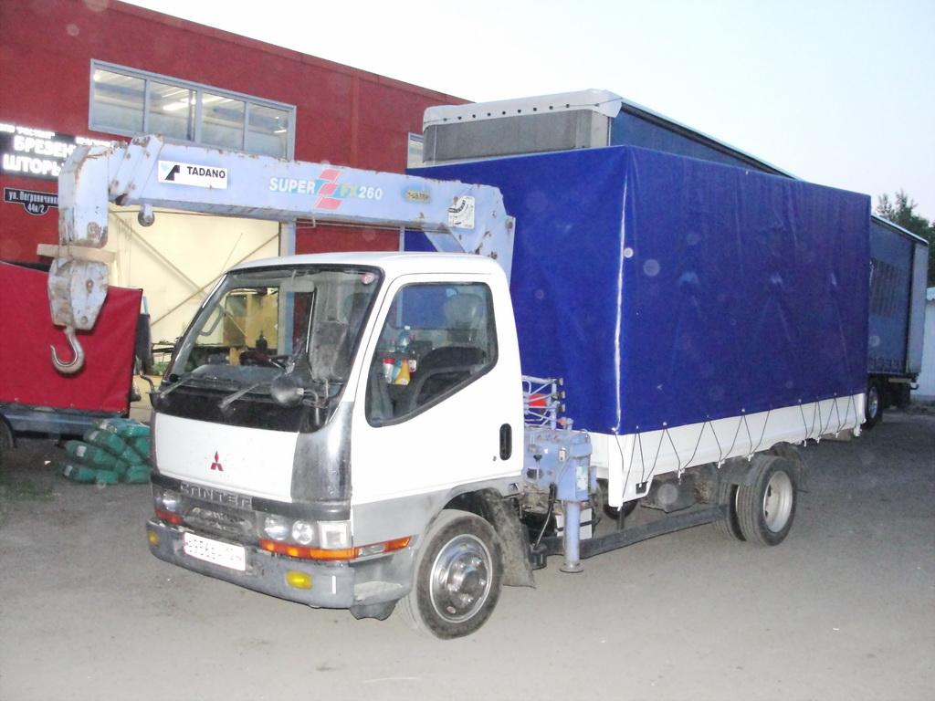Тент на грузовик Mitsubishi Canter
