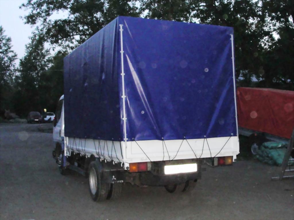 Тент на Mitsubishi Canter