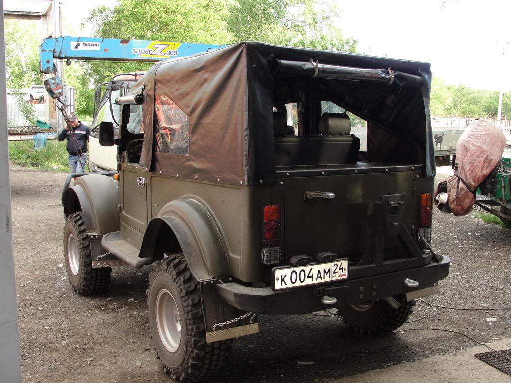 Тент для автомобиля ГАЗ-69