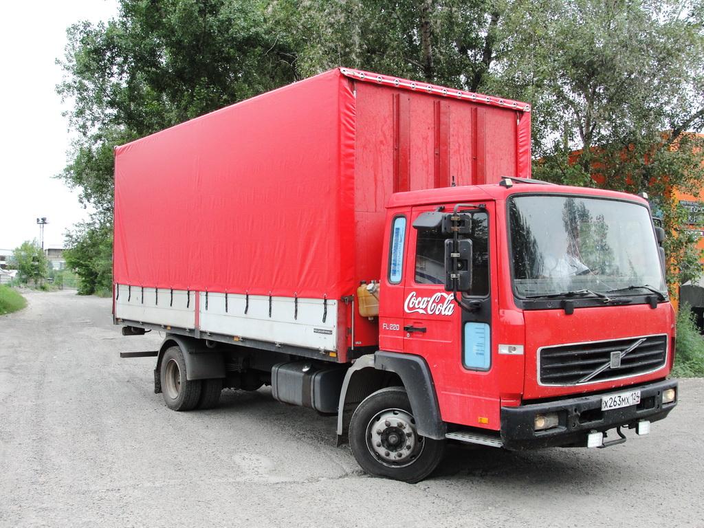Тент на грузовик Volvo FL 200