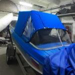Ходовой тент на лодку «Казанка»