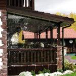 Защитные шторы для веранды