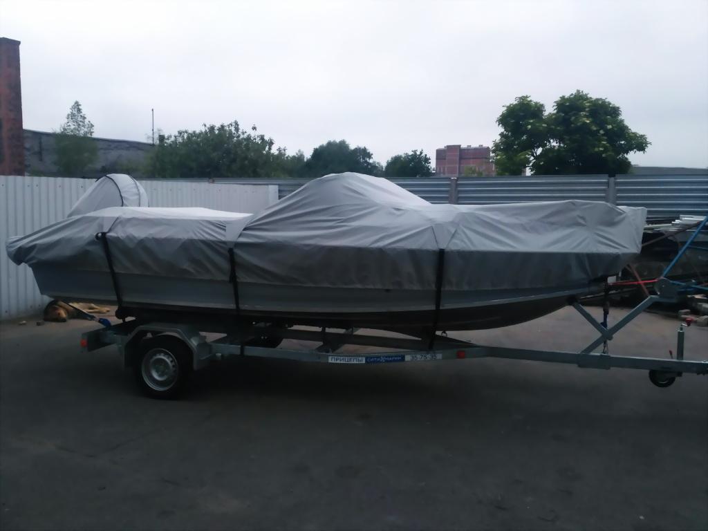 Транспортировочный тент на лодку «Волжанка-530»