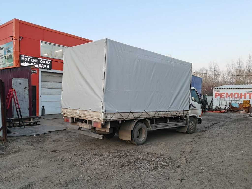 Тент грузовой для Hyundai HD72