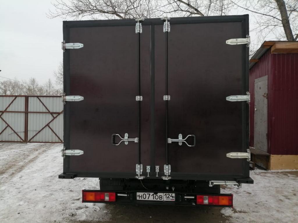 Ворота на грузовой автомобиль «Газель-Next»