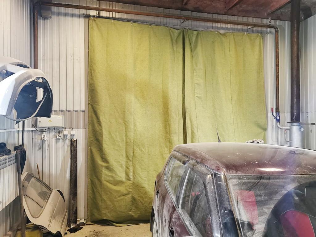 Штора в гараж 3,77х3,7 метра в Красноярске