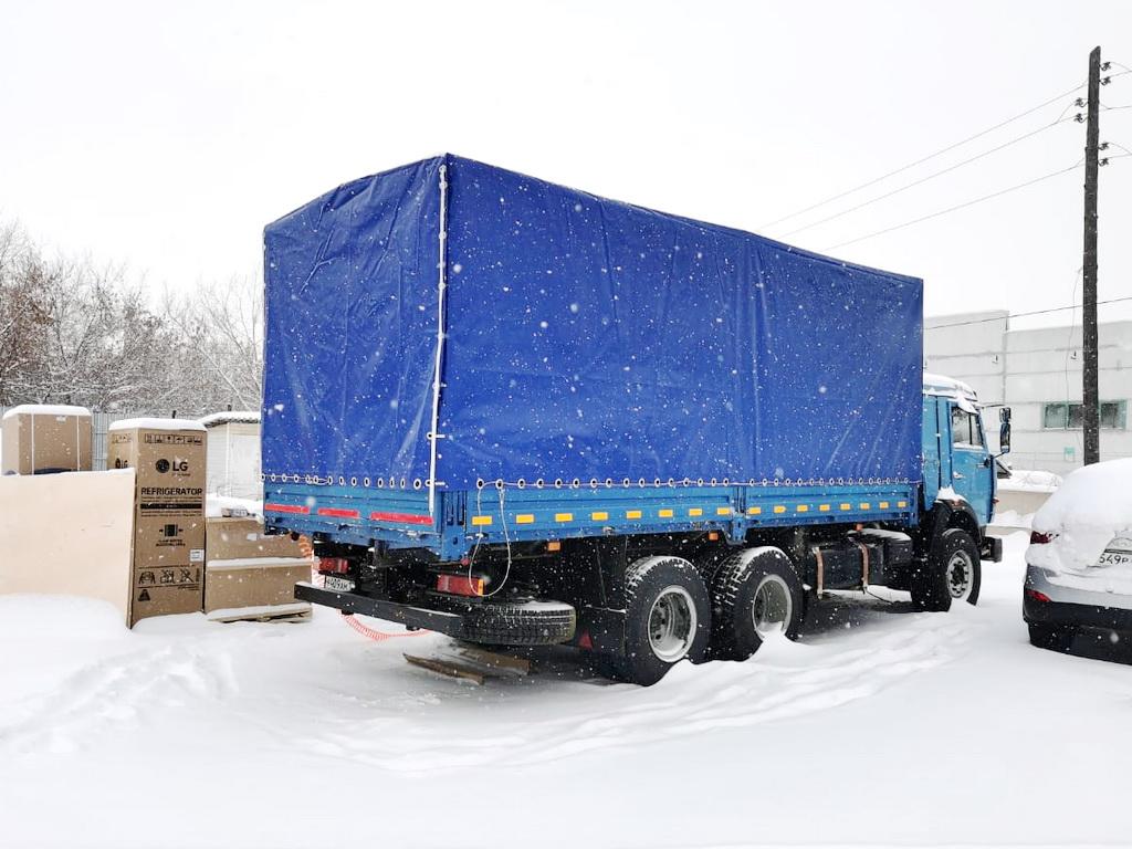 Тент на грузовик «Камаз 53215»