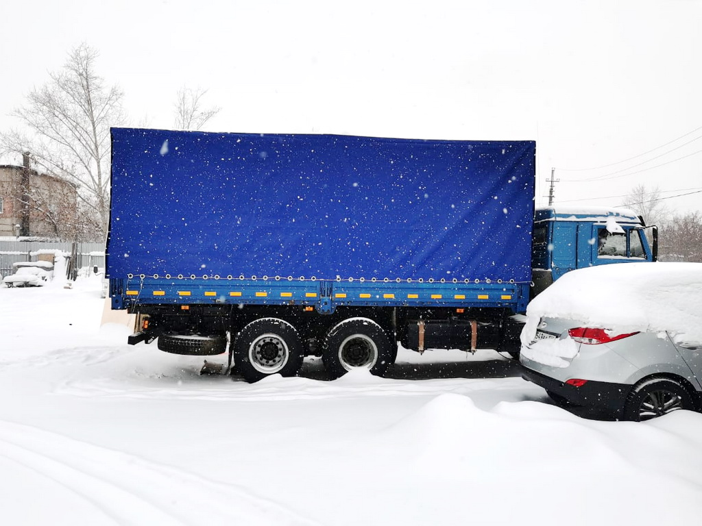Тент на грузовой автомобиль «Камаз 53215»