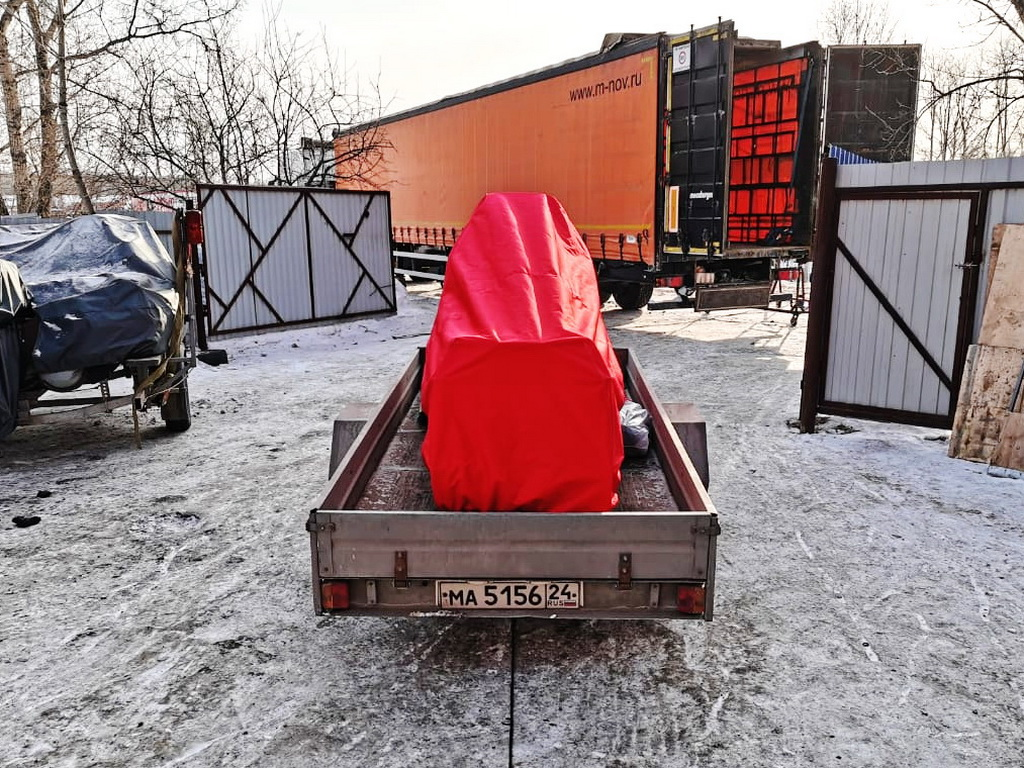 Защитный тент на снегоход Sky-Doo Skandic 550